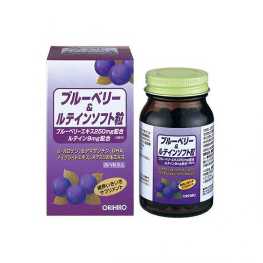 Орихиро витаминный комплекс с экстрактом черники капс. n120, фото №1