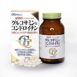 Орихиро глюкозамин и хондроитин таблетки 360 шт.