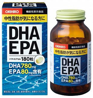 Орихиро дгк и эпк c витамином е капс. n180