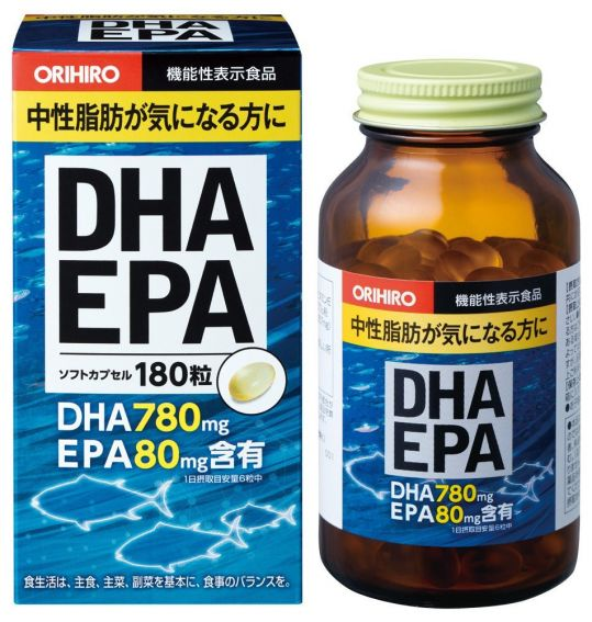 Орихиро дгк и эпк c витамином е капс. n180, фото №1
