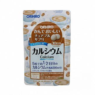 Орихиро кальций плюс витамин д со вкусом кофе таб. n150