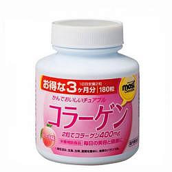 Орихиро коллаген со вкусом персика таблетки 180 шт.