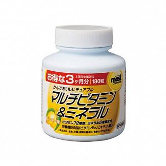 Орихиро мультивитамины и минералы со вкусом манго таб. n180