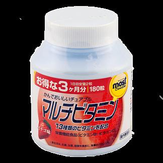 Орихиро мультивитамины со вкусом клубники таб. n180