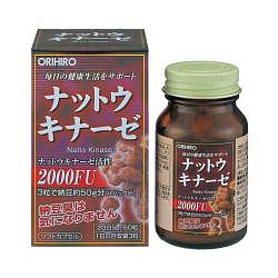 Орихиро натто киназа капсулы 60 шт.