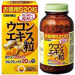 Орихиро экстракт куркумы таблетки 520 шт.