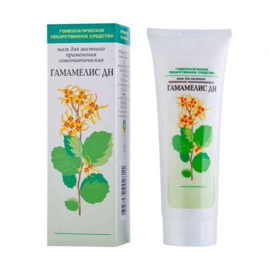 Гамамелис дн 70г мазь для местного применения гомеопатическая, фото №1