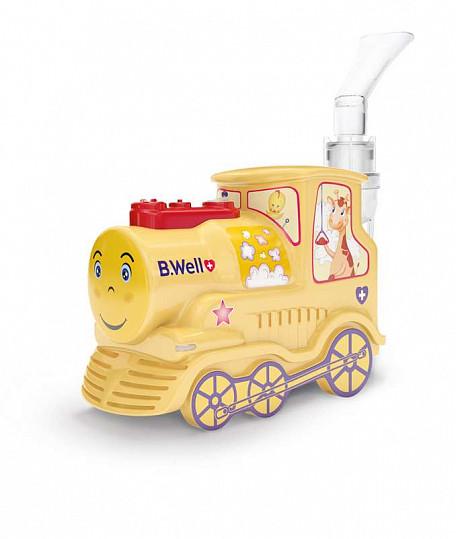 Би велл ингалятор компрессорный pro-115 k детский паровозик, фото №2