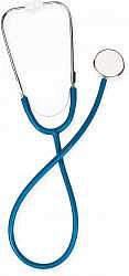 Би велл стетоскоп ws-1 одноголовочный синий