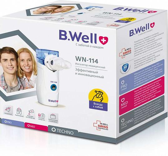 Би велл ингалятор ультразвуковой wn-114 электронно-сетчатый для взрослых, фото №2