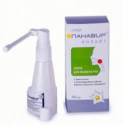 Панавир инлайт спрей для полости рта с эвкалиптом 40мл