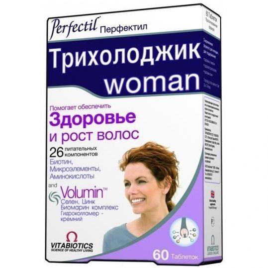 Перфектил трихолоджик таблетки 60 шт., фото №1