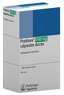 Купить прадакса 150 мг 180 капсул в москве дешево