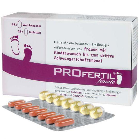 Профертил фимейл набор таблеток и капсул 56 шт., фото №1