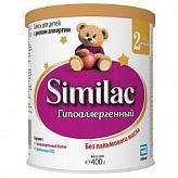 Симилак 2 гипоаллергененный смесь д/детей 6-12 мес. 400г