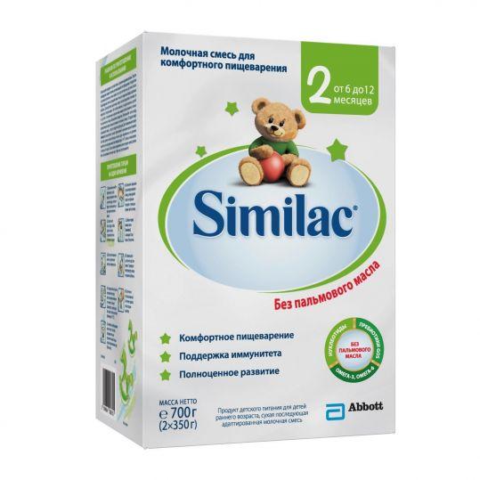Симилак 2 смесь молочная для детей 6+ 700г, фото №1
