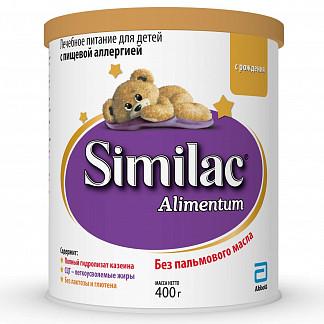 Симилак алиментум смесь сухая д/детей 0+ 400г