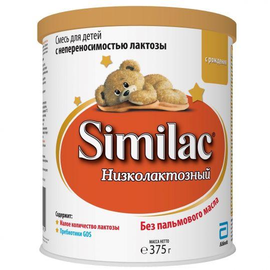 Симилак низколактозный смесь для детей 0+ 375г, фото №1
