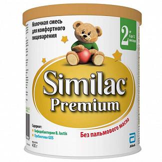 Симилак премиум 2 смесь молочная д/детей 400г