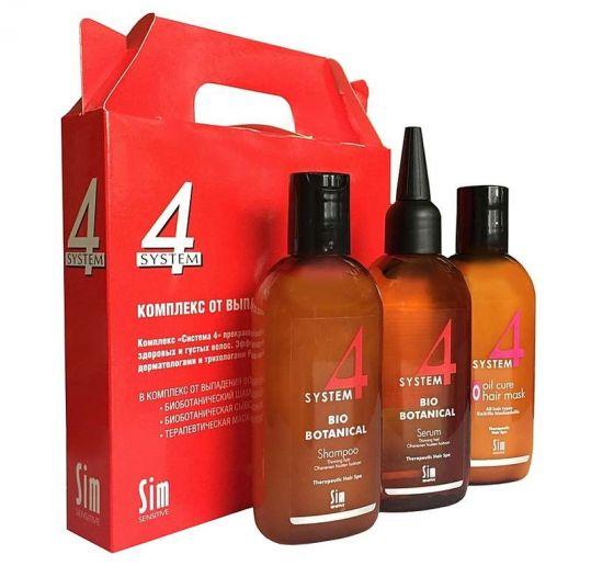 Система 4 комплекс от выпадения волос 215мл (шапунь, маска, сыворотка), фото №1