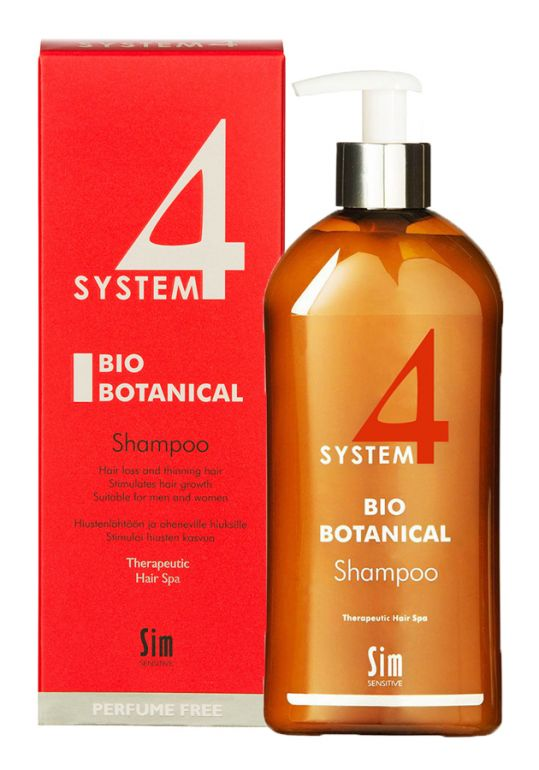 Система 4 шампунь био ботанический 500мл, фото №1