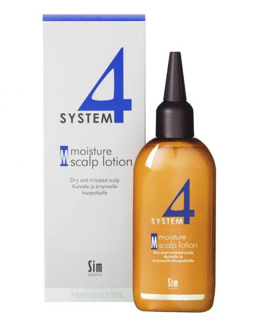 Система 4 терапевтический увлажняющий лосьон м для кожи головы и тела 100мл, фото №1