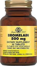 Солгар бромелайн таблетки 500мг 30 шт.