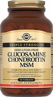 Солгар глюкозамин-хондроитин комплекс таблетки 60 шт.