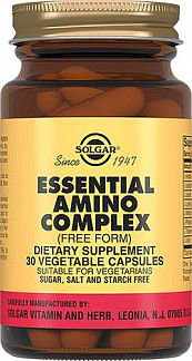 Солгар комплекс основных аминокислот таблетки 30 шт.