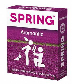 Спринг аромантик презервативы ароматизированные 3 шт.