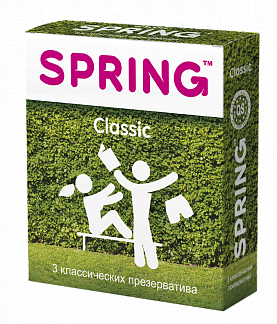 Спринг классик презервативы классические n3