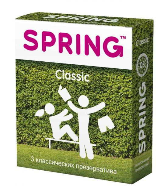Спринг классик презервативы классические 3 шт., фото №1