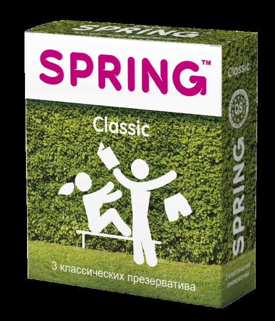 Спринг классик презервативы классические n3, фото №1