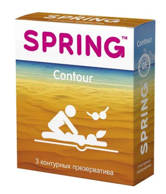 Спринг контур презервативы контурные 3 шт., фото №1
