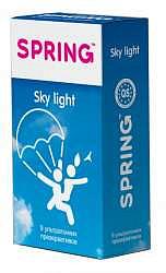 Спринг скай лайт презервативы ультратонкие 9 шт.