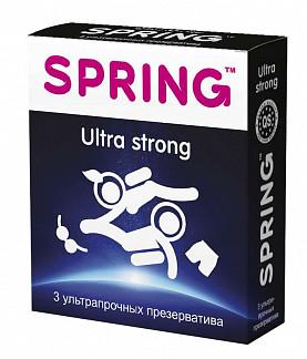 Спринг ультра стронг презервативы ультра-прочные 3 шт.