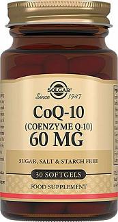 Солгар коэнзим q10 капсулы 60мг 30 шт.