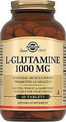 Солгар л-глутамин таблетки 1000мг 60 шт.