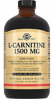 Солгар л-карнитин жидкость 1500мг 473мл