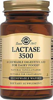 Солгар лактаза 3500 таблетки 30 шт.