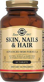 Солгар таблетки кожа, волосы, ногти 60 шт.