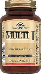 Солгар таблетки мульти-1 60 шт.