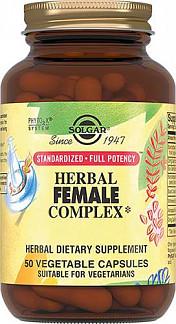 Солгар травяной комплекс для женщин капсулы 50 шт.