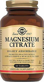 Солгар цитрат магния таблетки 60 шт.