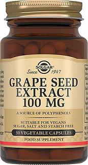 Солгар экстракт виноградных косточек капсулы 30 шт.