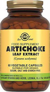 Солгар экстракт листьев артишока капсулы 60 шт.