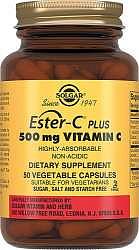 Солгар эстер-с плюс витамин с капсулы 500мг 50 шт.