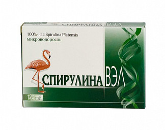 Спирулина вэл таблетки 120 шт.