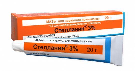 Стелланин 3% 20г мазь для наружного применения, фото №1
