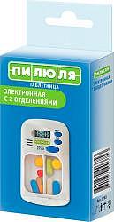 Пилюля таблетница электронная арт.3753 с таймером и 2 отделениями